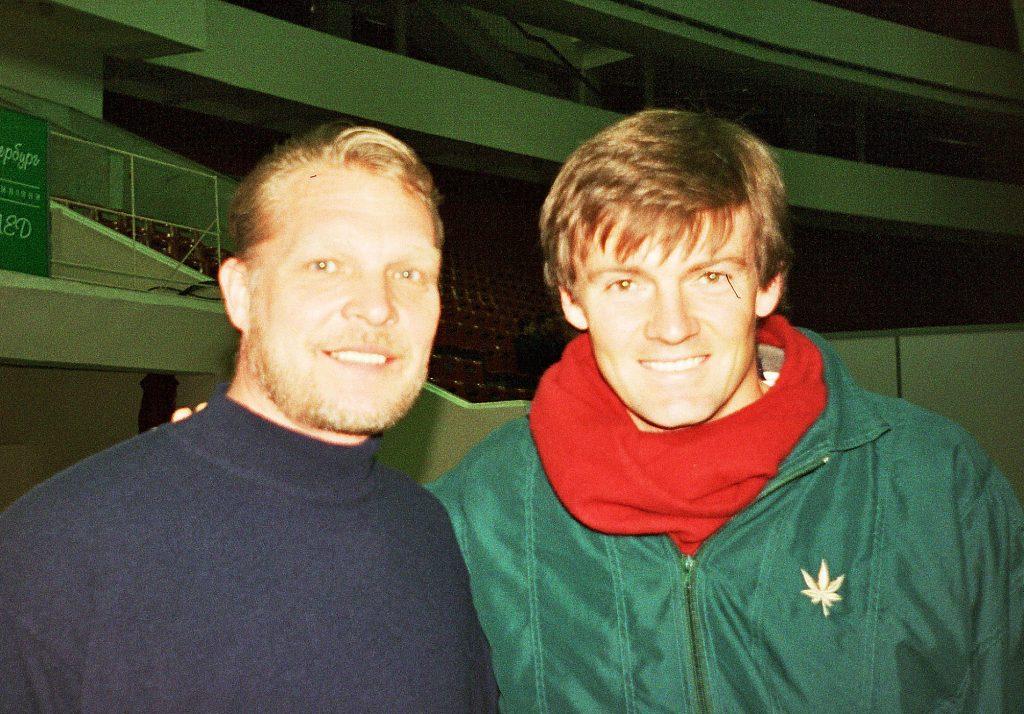 Адамс Давид (ЮАР) и Минкевич Анатолий (Россия) St. Petersburg Open-1998