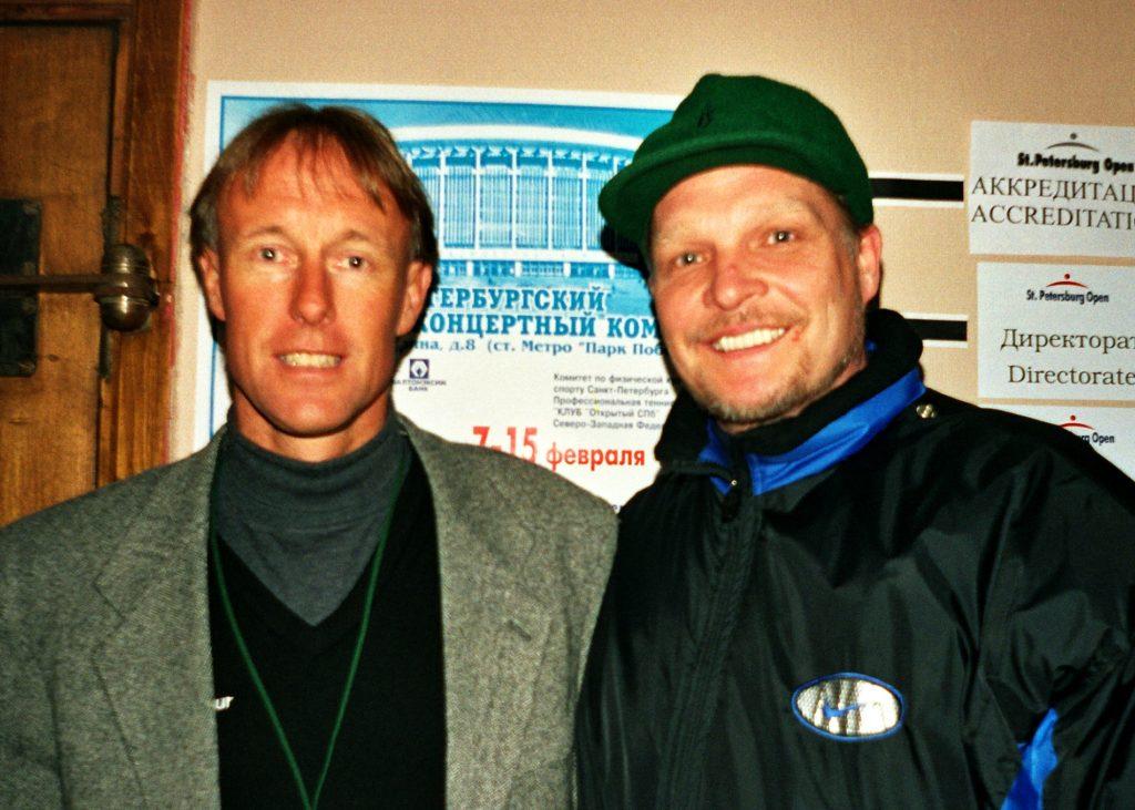 Армстронг Джерри (Великобритания) и Минкевич Анатолий (Россия) St. Petersburg Open-1998