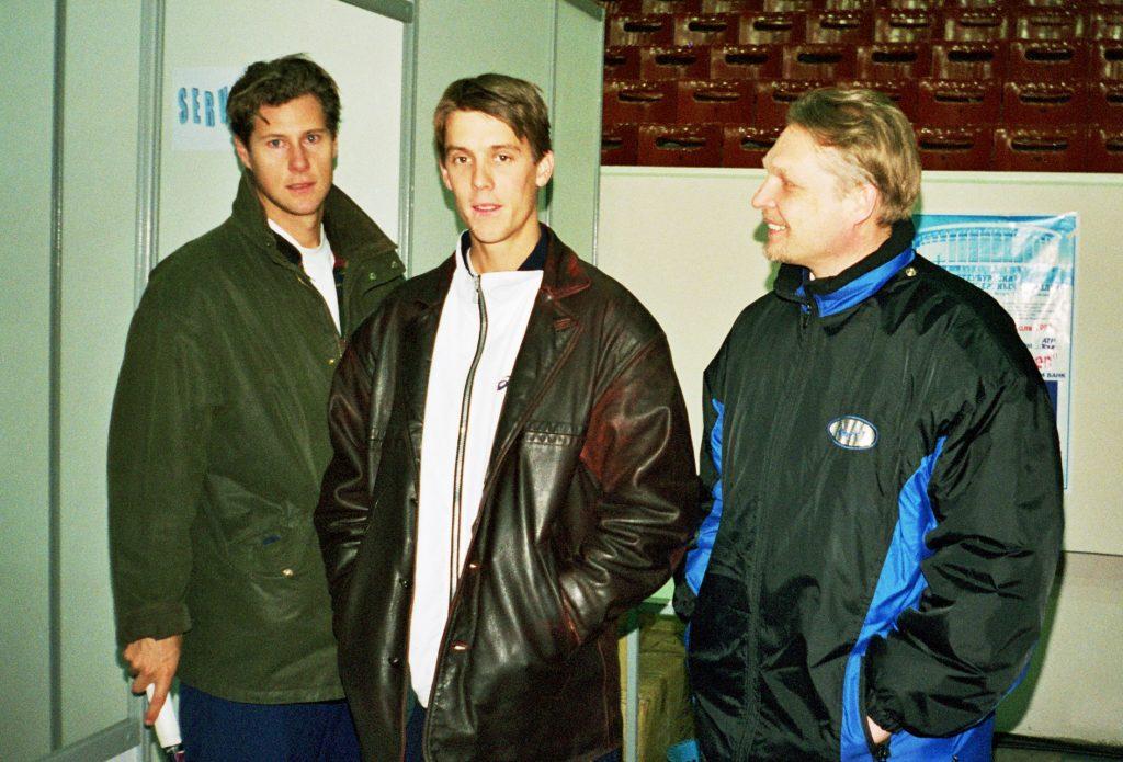 Култи Никлас, Тиллстрем Михаэль (Швеция) и Минкевич Анатолий (Россия) St. Petersburg Open-1998