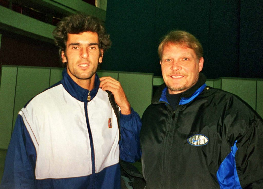 Пиолин Сидрик (Франция) и Минкевич Анатолий (Россия) St. Petersburg Open-1998