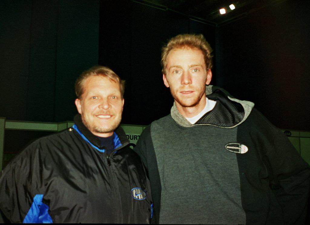 Россе Марк (Швейцария) и Минкевич Анатолий (Россия) St. Petersburg Open-1998