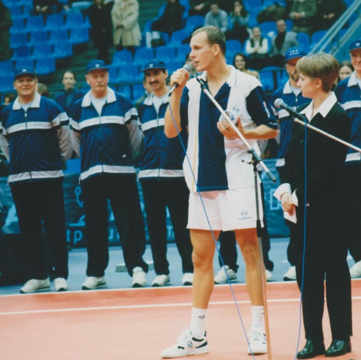 Вацек Даниэль (Чехия) Финалист Кубка Кремля в парном разряде 1998