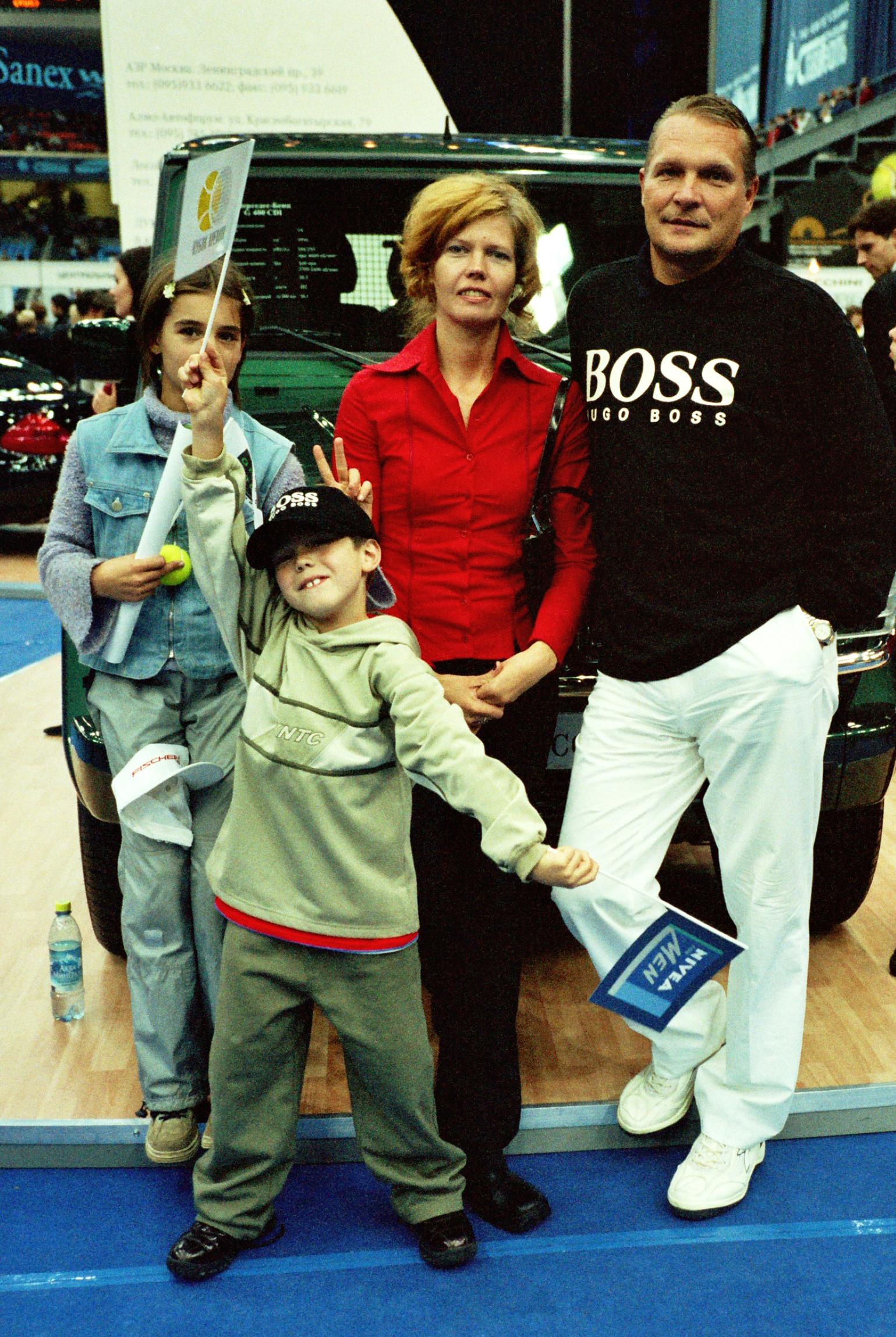 Синклер Светлана Владимировна Директор международного теннисного турнира Интебанк на Кубке Кремля 2001