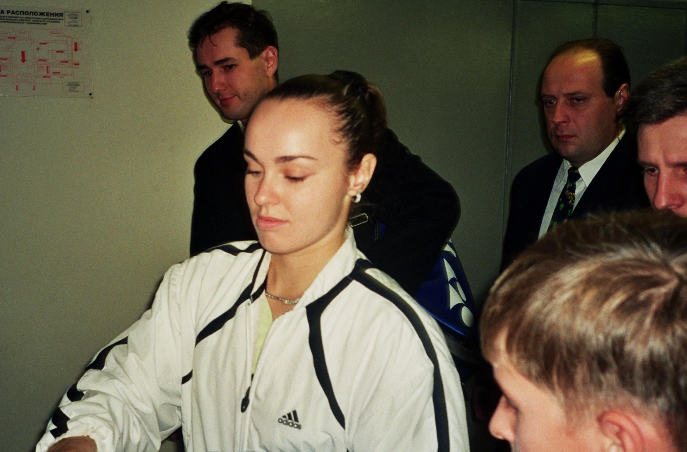 Хингис Мартина (Швейцария) Экс-первая ракетка мира, победительница МТ WTA-Tour Кубок Кремля 2000