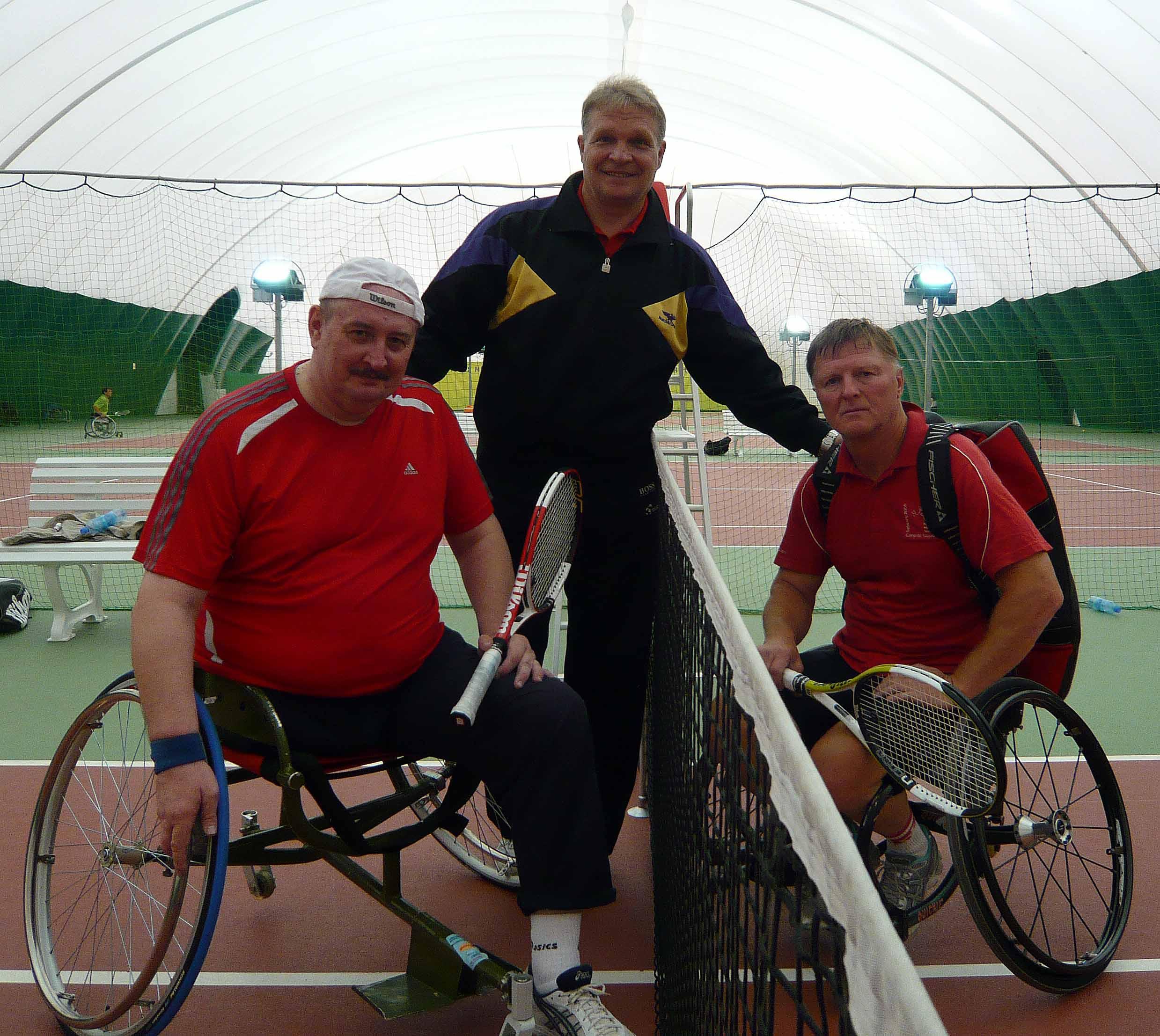 Чемпионат России по теннису среди спортсменов на колясках ТЦ Янтарь 2009