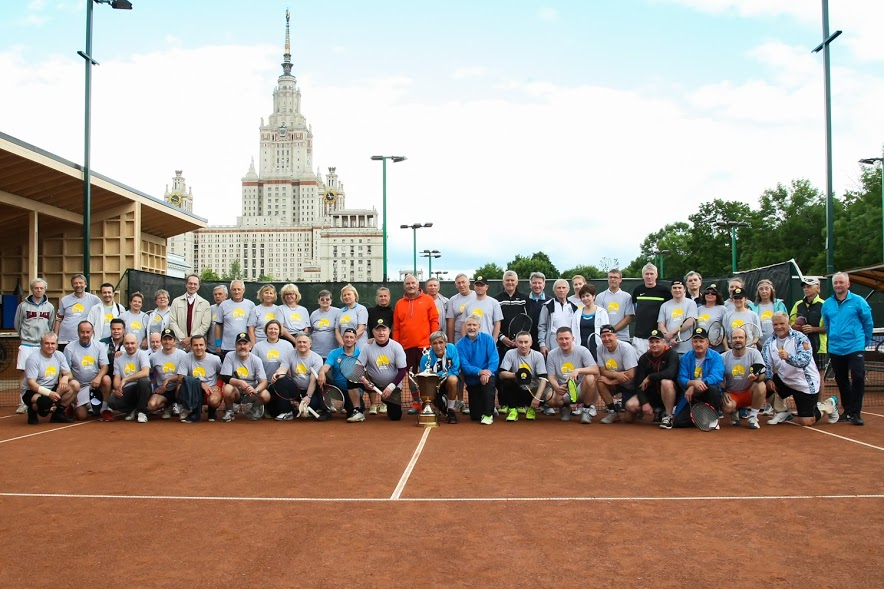 Традиционный теннисный турнир Кубок ректора Московского государственного университета 2017