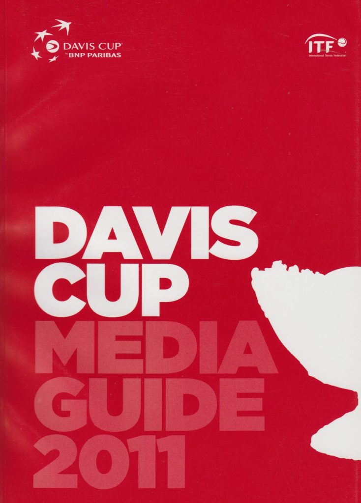 Книга DAVIS CUP ITF Media guide 2011