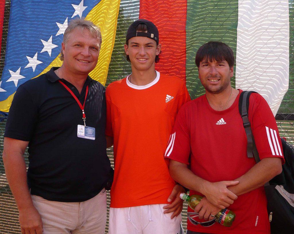 Димитров Григор (Болгария)-победитель Чемпионата Европы по теннису среди юниоров (2007)