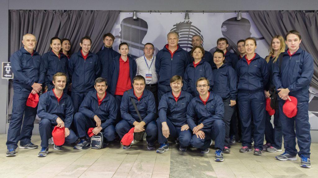 Судейский корпус Кубка Федерации Россия-Нидерланды (2016)