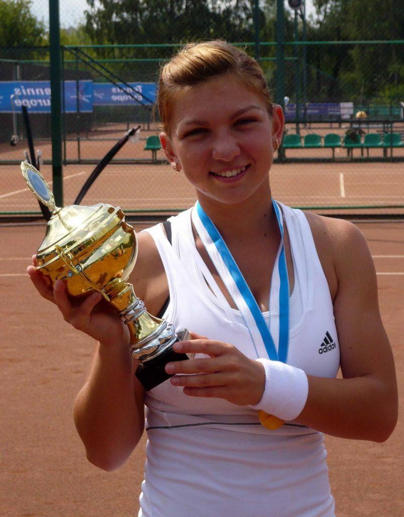 Халеп Симона (Румыния)-победительница Чемпионата Европы по теннису Москва НТЦ России им Х.-А. Самаранча (2013)