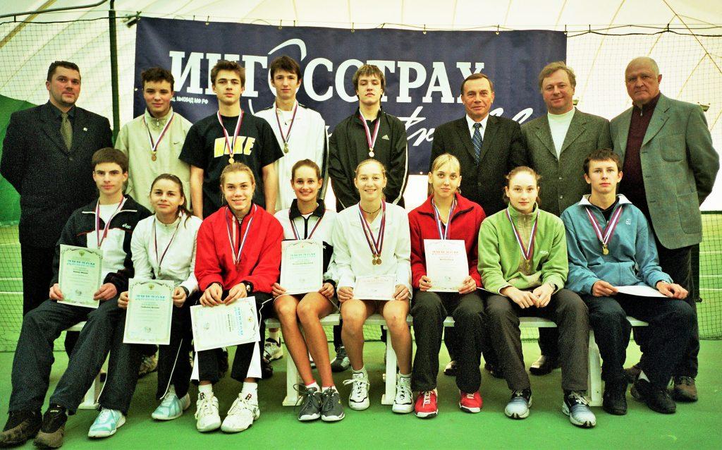 Победители и призёры Первенства России среди юношей и девушек 18 лет и моложе в Тольятти 2003