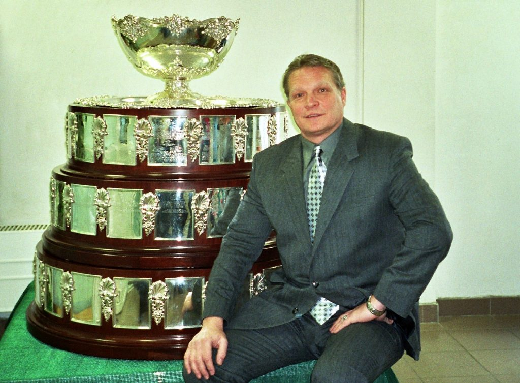Минкевич Анатолий Адамович в Новой Олимпийской деревне 2002 год