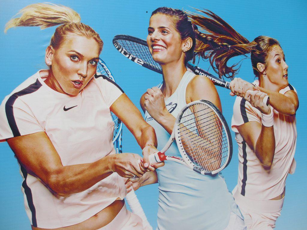 Лица международного теннисного турнира WTA Moscow River Cup 2018