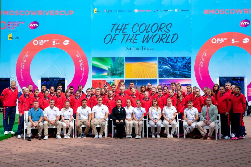 Судейский корпус международного теннисного турнира WTA Moscow River Cup presented by Ingrad 2018