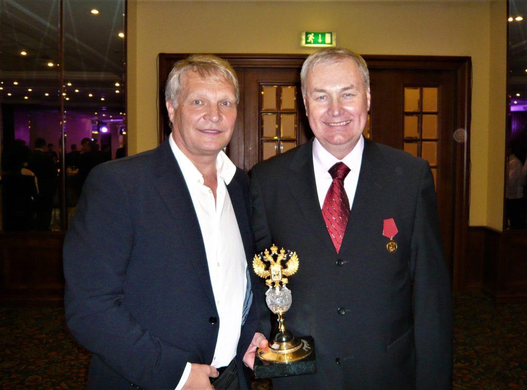 Минкевич Анатолий и Лазарев Владимир Александрович первый вице-президент Федерации тенниса России 2009 г.
