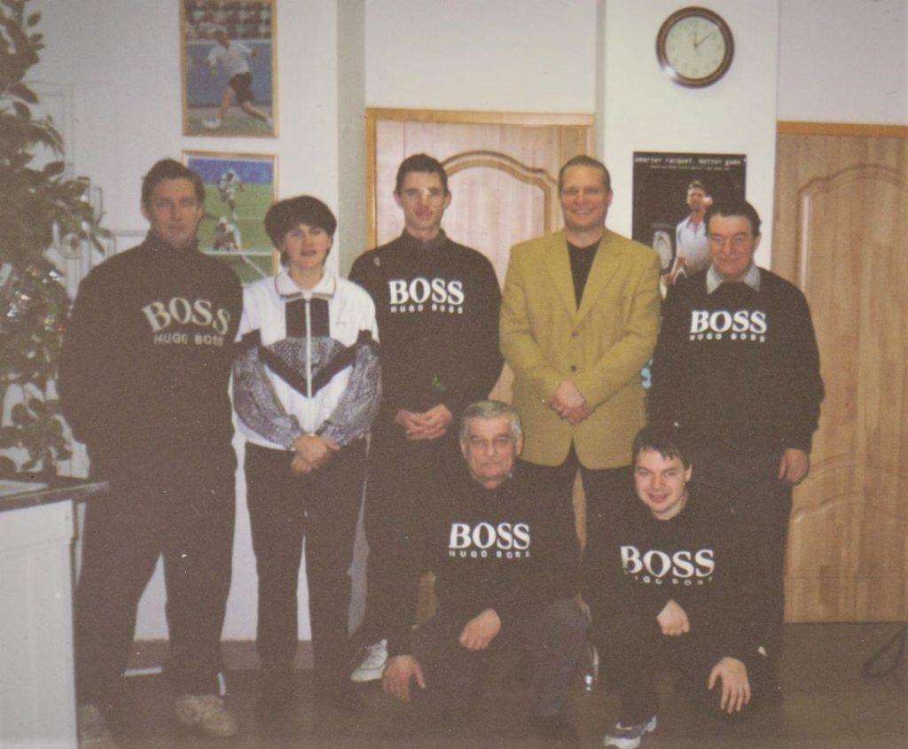 Минкевич Анатолий судья на вышке финальных матчей ск олимпиец 2003