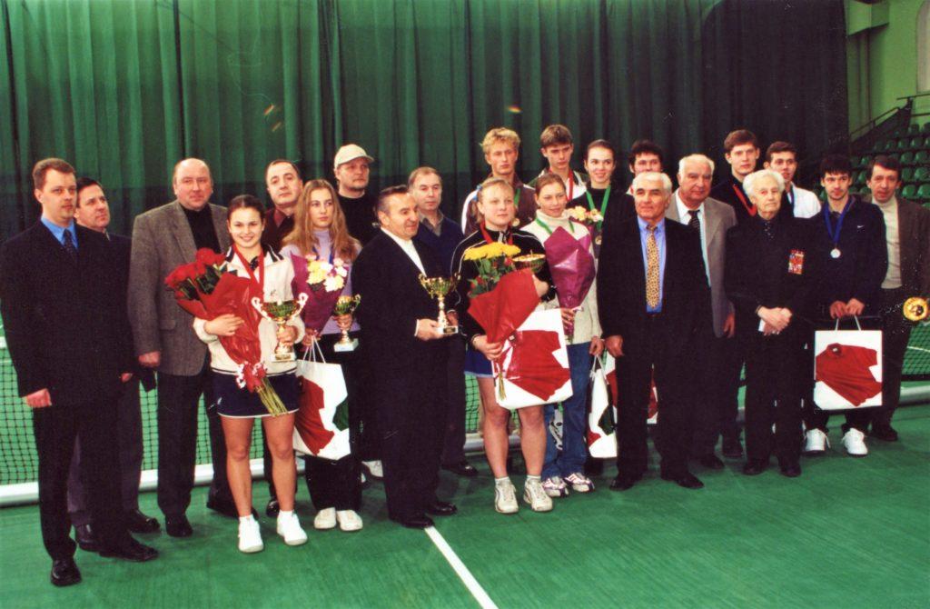 1 2001- Минкевич Анато Победители и призеры Открытого зимнего Чемпионата Москвы (5)