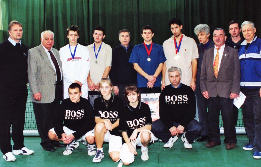 1 2002 Минкевич Открытый зимний Чемпионат Москвы Финалисты Сергей Кротюк и Алексей Гаврилов