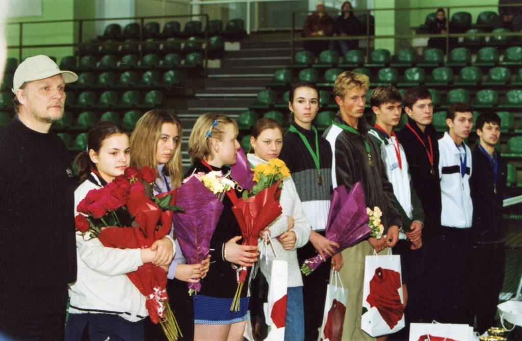 2 2001- Минкевич Анато Победители и призеры Открытого зимнего Чемпионата Москвы (