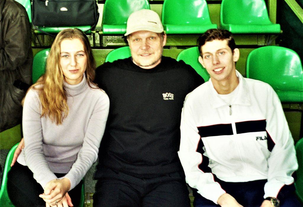 2001 - Кондратьева Мария и Мухометов Филипп на Открытом зимнем Чемпионате Москвы