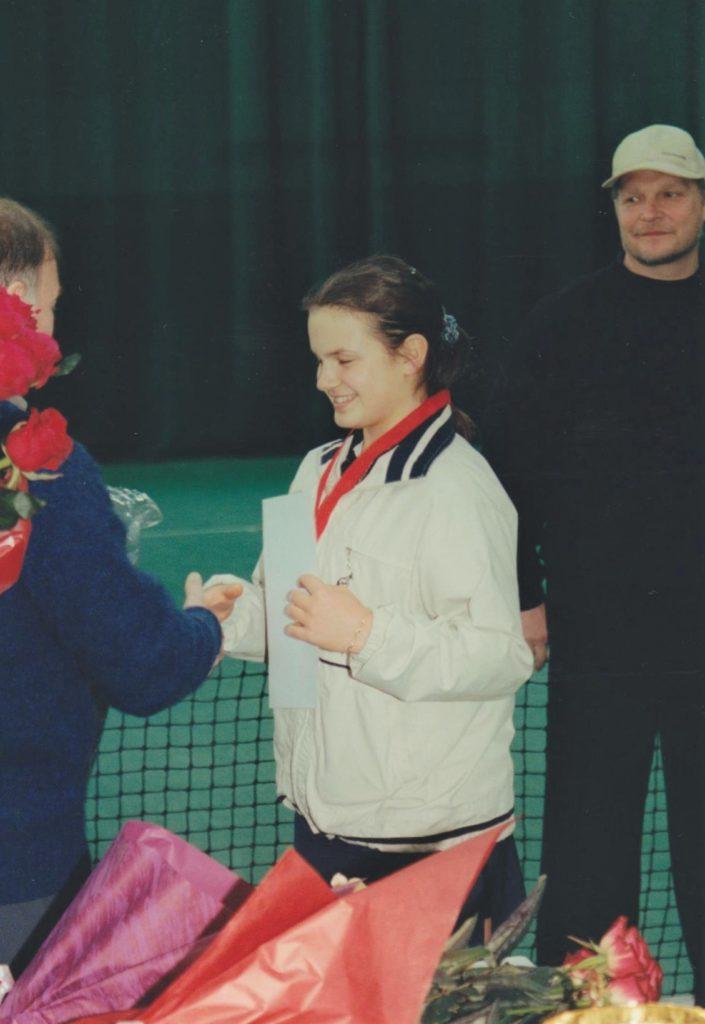 2001- Минкевич Галина Фокина победительница Открытом зимнем Чемпионате Москвы. Награж (1)