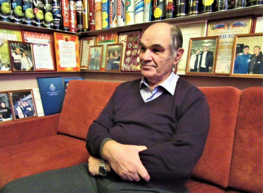 Минкевич Анатолий с Борисом Ивановичем Фоменко - историком тенниса 2015 год